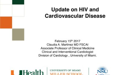 Webinar: Update on HIV and Cardiovascular Disease