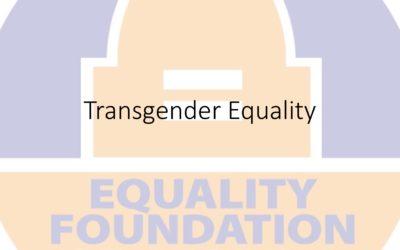 Webinar: Transgender Equality