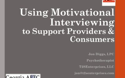 Webinar: Using Motivational Interviewing to Support Providers & Consumers