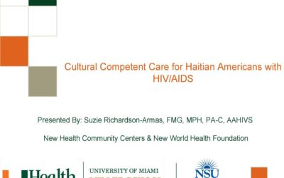 Webinar: Cultural Competent Care for Haitian Americans with HIV/AIDS