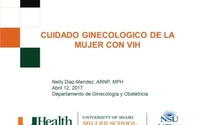 Webinar: CUIDADO GINECOLOGICO DE LA MUJER CON VIH