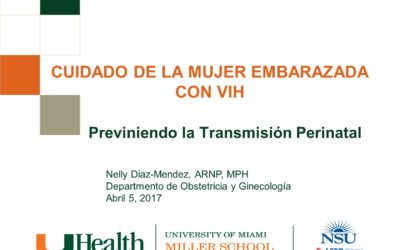 Webcast: CUIDADO DE LA MUJER EMBARAZADA CON VIH