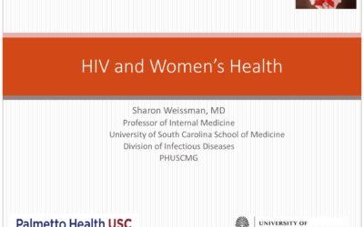 Webinar: HIV and Women's Health