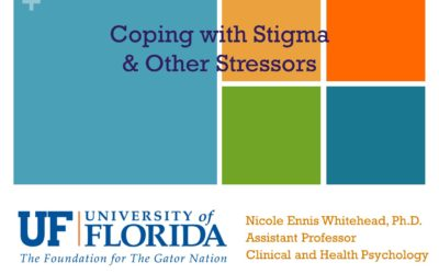 Webinar: Coping with Stigma  & Other Stressors