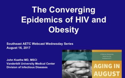 Webinar: The Converging Epidemics of HIV and Obesity
