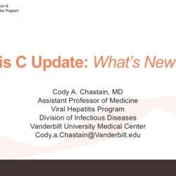 Hepatitis C Update: What's New in 2017