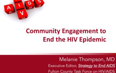 Webinar: Community Engagement to End the HIV Epidemic
