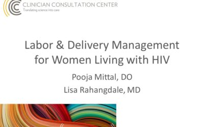 Labor & Delivery Management for Women Living with HIV