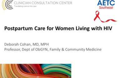Webinar: Postpartum Care for Women Living with HIV